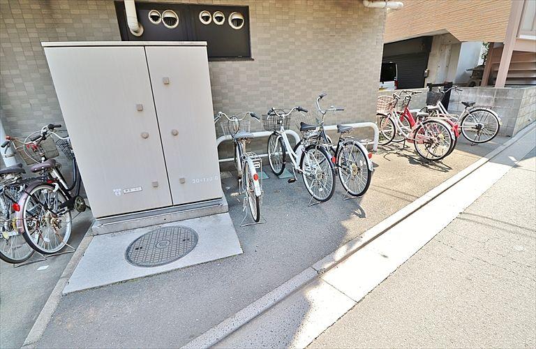 マンションの駐輪スペース