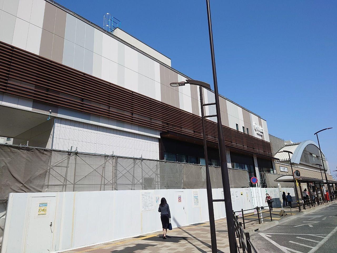 ひばりが丘駅ナカ商業施設エミオ7月末オープン予定