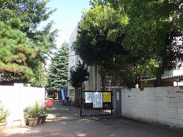 建替え前の中原小学校