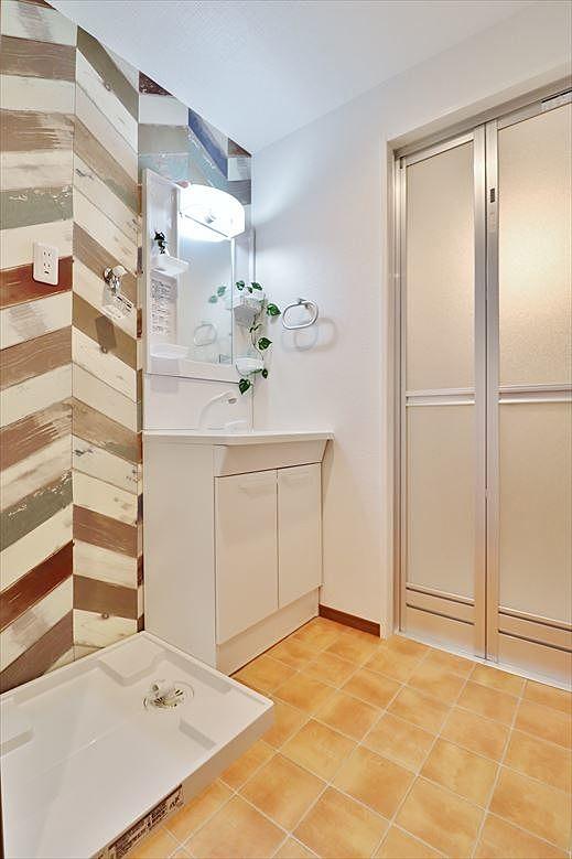 広めの洗面室