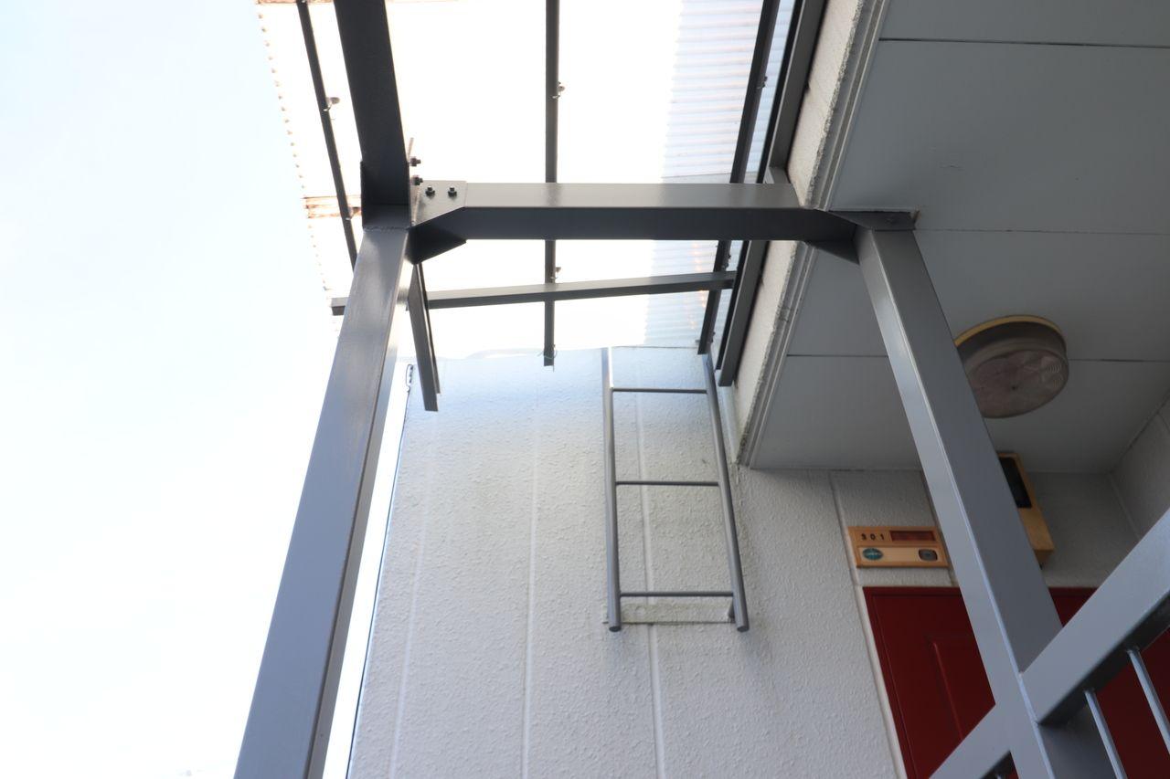鉄さびが降ってきた屋根