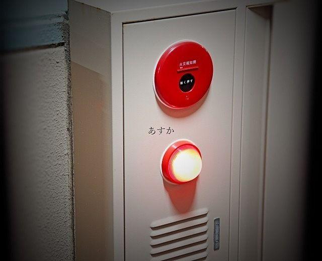 住宅併用ビルの消防立入検査。消防署の立会に行きました。