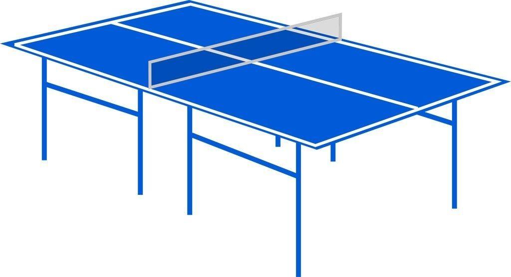 本格的な卓球台があります。