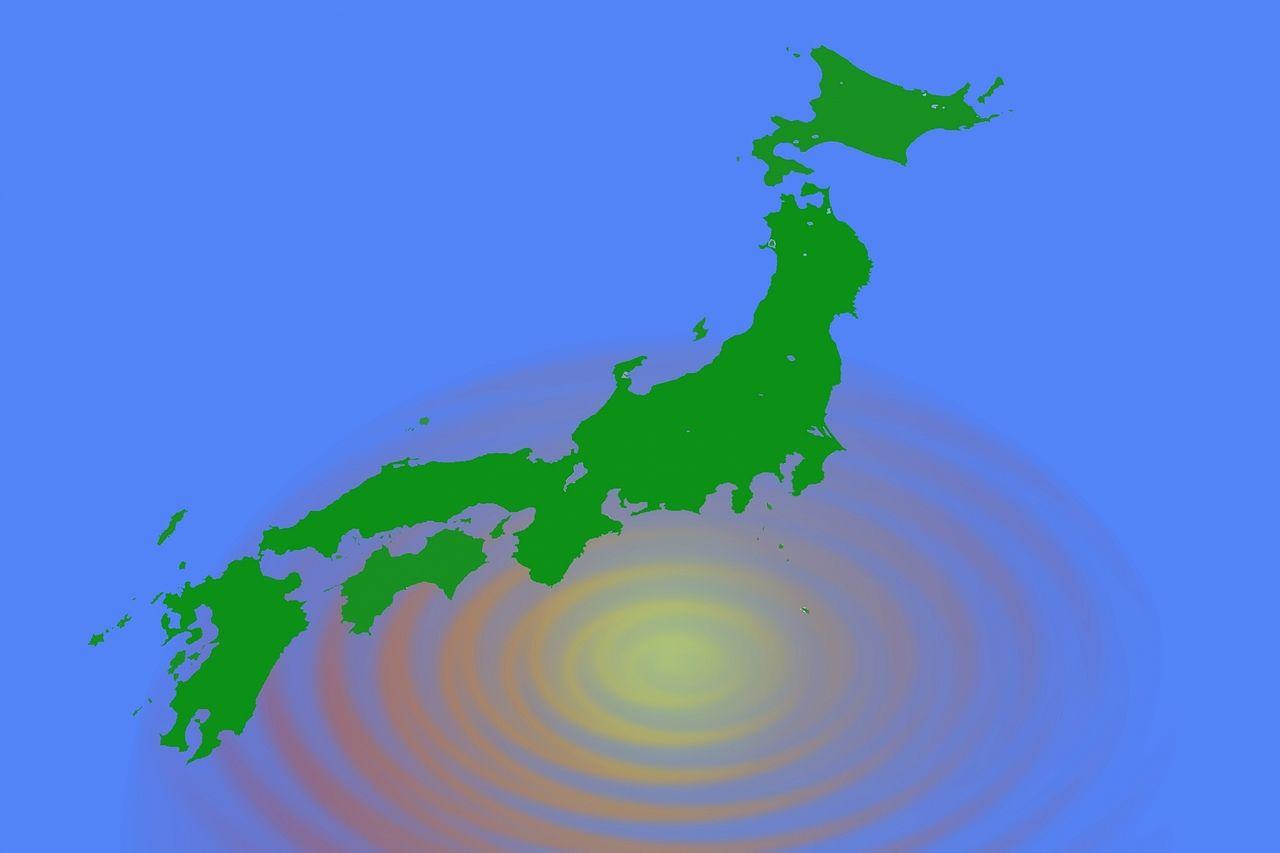 震源のイメージ